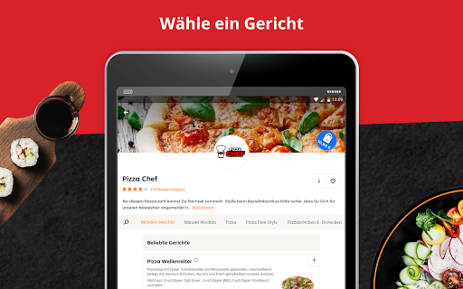 LIEFERHELD | Order Food  screenshots 8