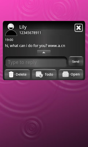 Pink Metal Theme for GO SMS For PC Windows (7, 8, 10, 10X) & Mac Computer Image Number- 7