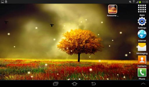 Awesome-Land Live wallpaper HD : Grow more trees screenshots 16