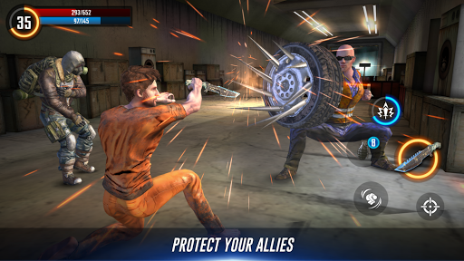 Cyber War: Cyberpunk Reborn (Offline ARPG)  screenshots 11