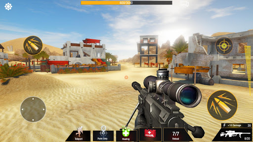 Sniper Game: Bullet Strike - Free Shooting Game 1.1.4.4 screenshots 15