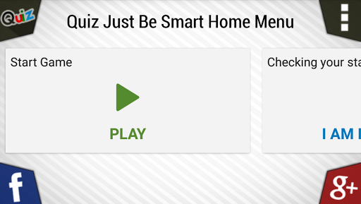 Quiz Just Be Smart  screenshots 1