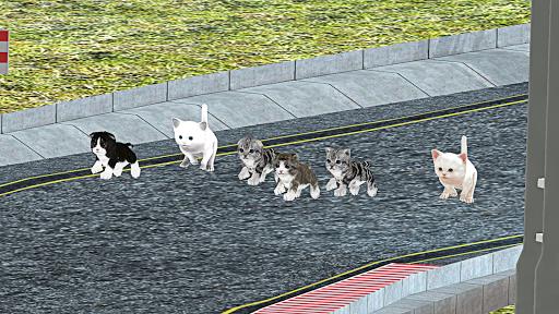 Kitten Cat Craft Racing:Cute Cat World Tournament apkdebit screenshots 1