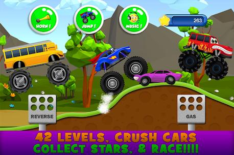 Monster Trucks Game for Kids 2 4