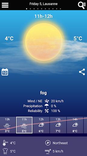 Swiss Weather 1.7.0.19 Screenshots 2