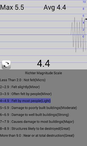 seismometer screenshot 2