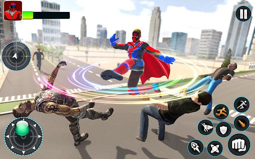 Flying Robot Hero - Crime City Rescue Robot Games 1.7.7 Screenshots 8