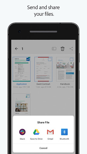 Adobe Fill & Sign: Easy PDF Doc & Form Filler. 1.6.0 Screenshots 5