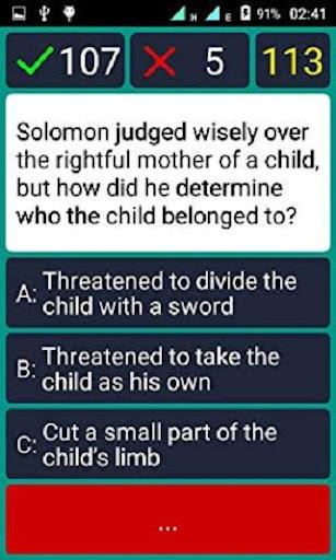 bible quiz & answers screenshot 3