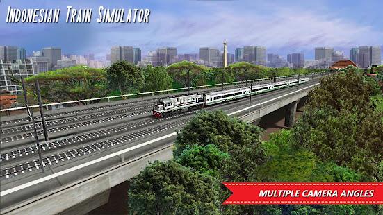 Indonesian Train Simulator Varies with device screenshots 1