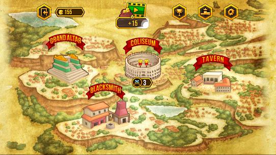 Gods of Arena: Online Battles Online Hack Android & iOS 5
