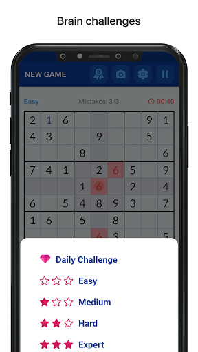 Sudoku - Free Classic Sudoku Puzzles 1.14 screenshots 3