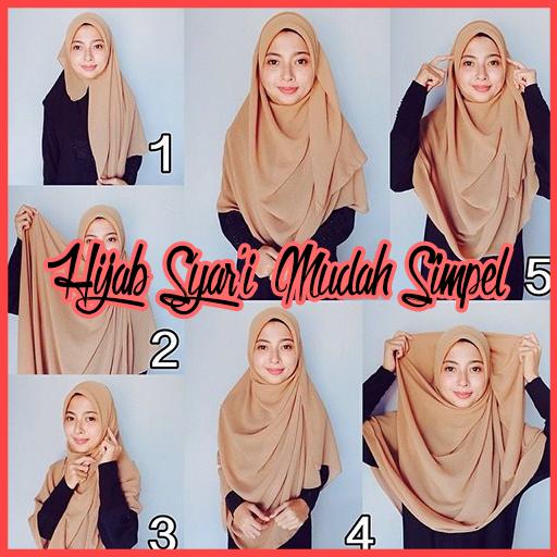 Tutorial Hijab Syari Mudah Dan Simpel Download Apk Free For Android Apktume Com
