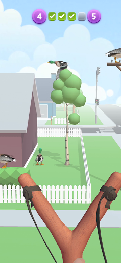Sling Birds 3D apktreat screenshots 1