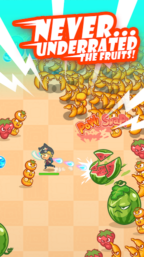 Magic Fruit Survival: Auto shooting Endless runner 0.3.0 screenshots 5