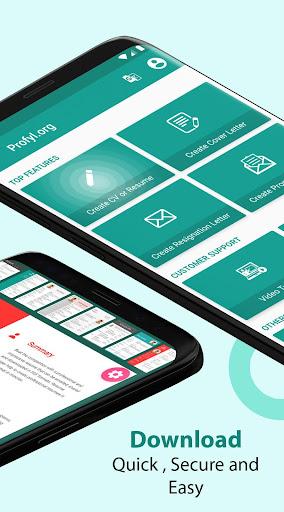 Resume Builder & CV Maker - PDF Template Editor 9.2.1.pro Screenshots 2