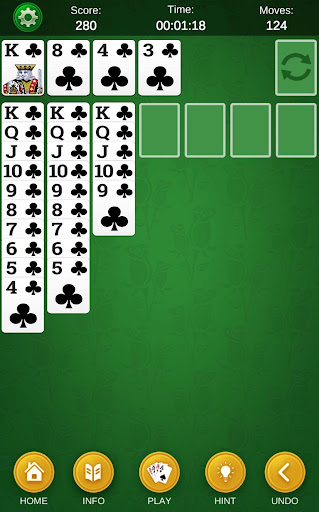 Spider Solitaire - Classic Solitaire Collection  screenshots 21