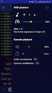 MIDI Clef Karaoke Player MOD APK 2