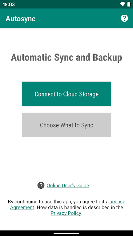 Autosync - Universal cloud sync and backup  poster 0