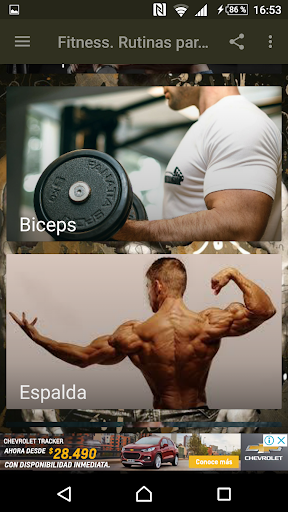 Fitness. Rutinas para el Gym  Screenshots 2