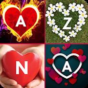 Love Name Letter DP Maker 2021