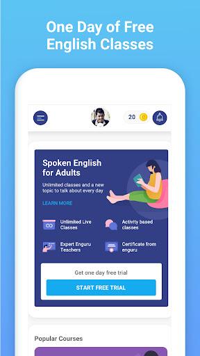 enguru Live English Learning | Speaking | Reading apktram screenshots 2