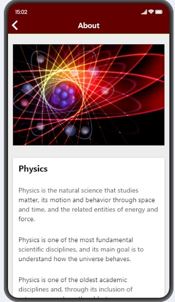 Physics Facts screenshot 1