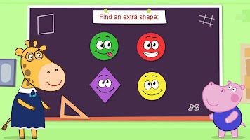 Shapes and colors for kids