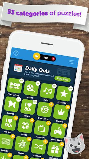Crossword Quiz - Crossword Puzzle Word Game! 3.85g screenshots 3