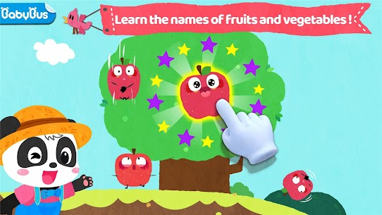 Baby Panda's Fruit Farm – Apple Family 7
