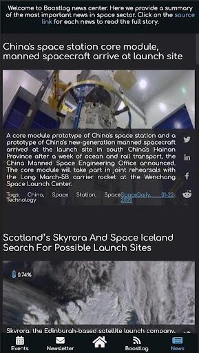 BoostUp Group - Space Tech, Newspace, News, Events  screenshots 3