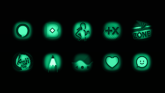 Night Vision - Stealth Green Icon Pack Screenshot