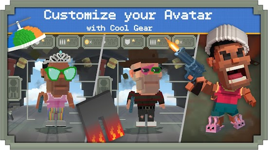 Guns Royale - Multiplayer Blocky Battle Royale Screenshot