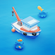Fish idle: hooked boat & fishing games。 釣りゲーム無料