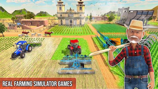 Pak Tractor Cargo 3D Farming screenshots 2