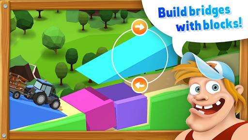 BlockVille Bridge builder Physics puzzle 3.6 screenshots 1
