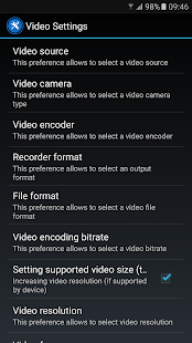 Background Video Recorder Premium Screenshot