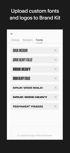Unfold u2014 Story Maker & Instagram Template Editor apktram screenshots 7