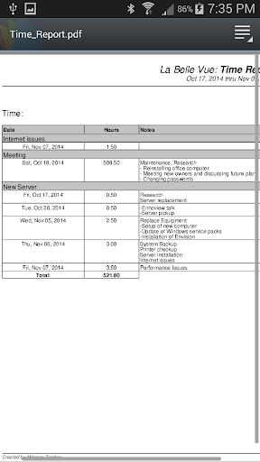Time Tracking Timesheet Add On For PC Windows (7, 8, 10, 10X) & Mac Computer Image Number- 11