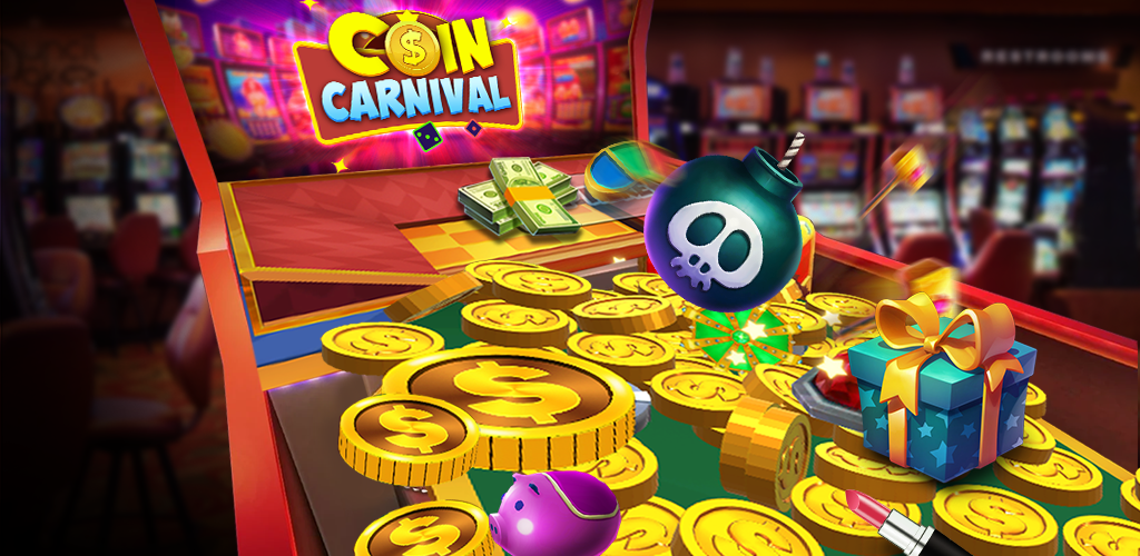 Coin Carnival Slots Coin Pusher Arcade Dozer 2 8 Apk Download Com Triwin Coin Carnival Apk Free