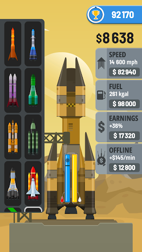 Rocket Sky!  screen 1