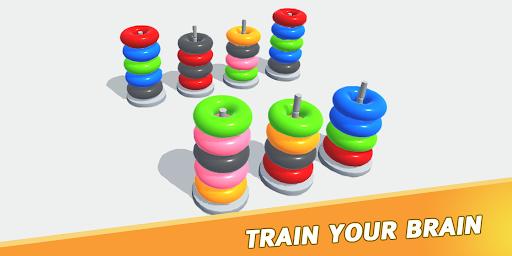 Color Sort Puzzle: Color Hoop Stack Puzzle 1.0.11 screenshots 6