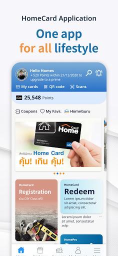 HomeCard Application  screenshots 1