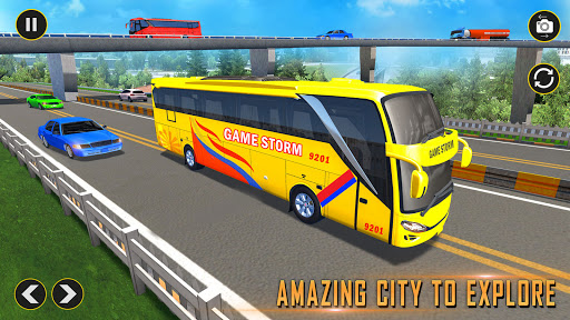 Modern Bus Simulator: Ultimate Bus Driving Games Varies with device screenshots 2