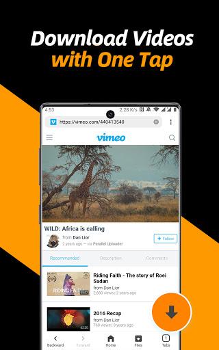 Video Downloader, Private File Downloader & Saver apktram screenshots 16