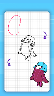 How to draw kawaii people. Step by step lessons
