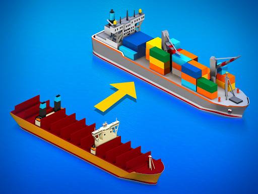 idle ship tycoon: port manager simulator screenshot 2