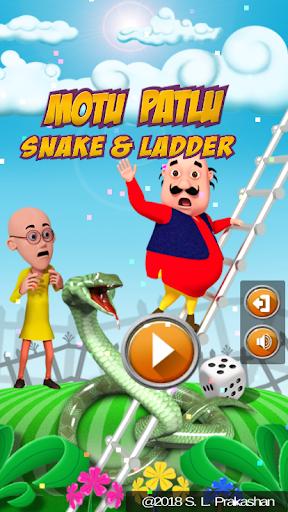 Motu Patlu Snakes & Ladder Game  screenshots 1
