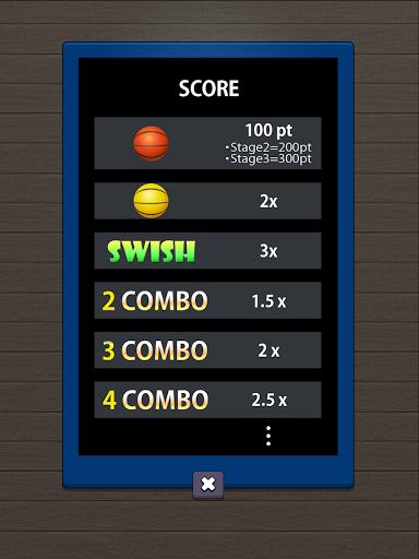 Swish Shot! Basketball Shooting Game screenshots 17