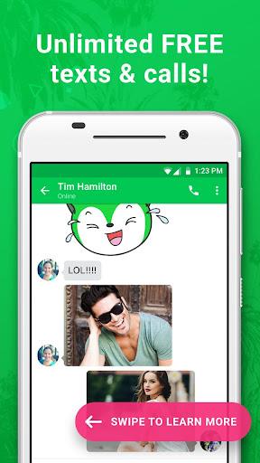 Nextplus Free SMS Text + Calls  Screenshots 1